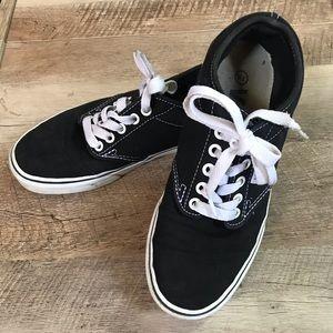 Vans black size 7.5 sneakers